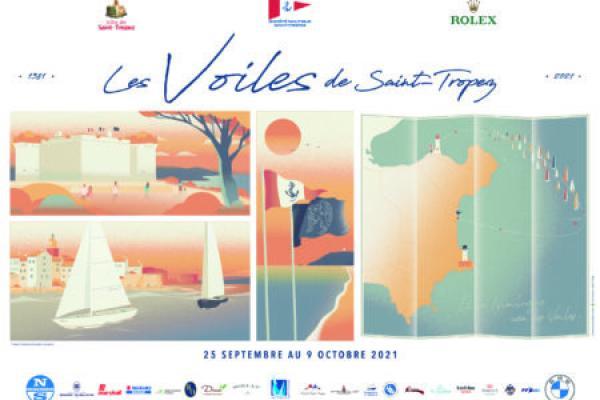 Voiles de Saint-Tropez 2021 : retrouvez l'événement nautique mythique de la Côte d'Azur