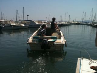 Louer bateau rigide sans permis Ste Maxime